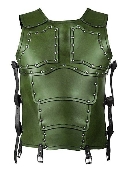 Lederrüstung - Söldner Torso (grün)