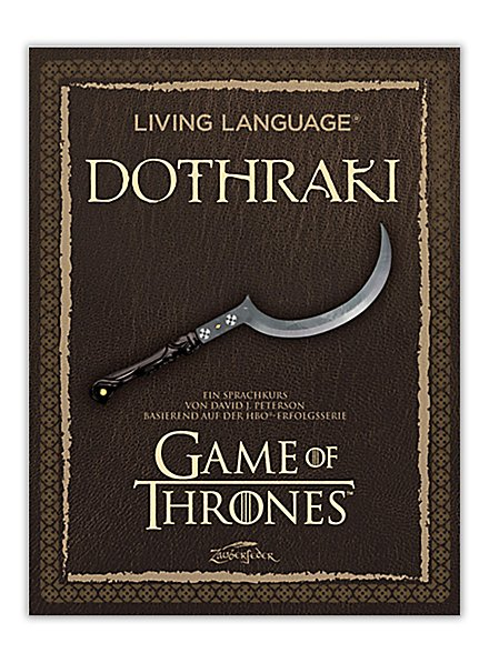 Living Language Dothraki (Sprachkurs)