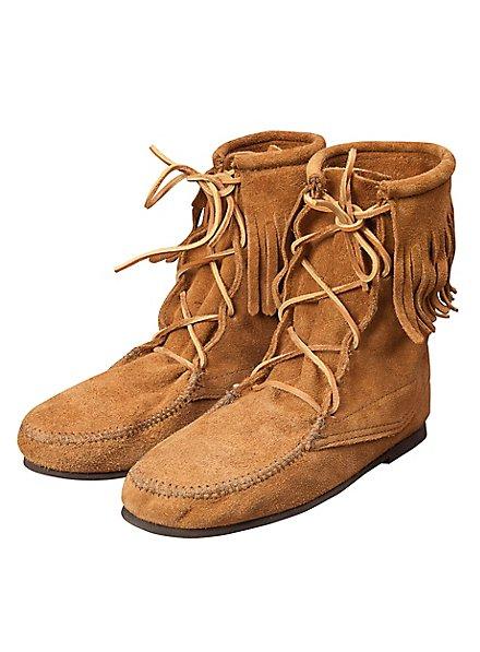 Mittelalter Schuhe mit Fransensaum