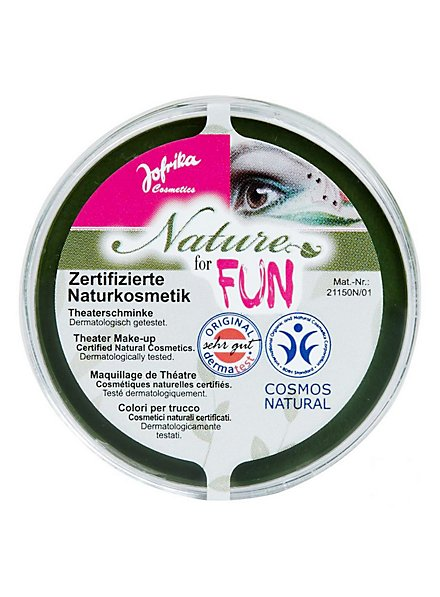 Naturkosmetik Schminke grün