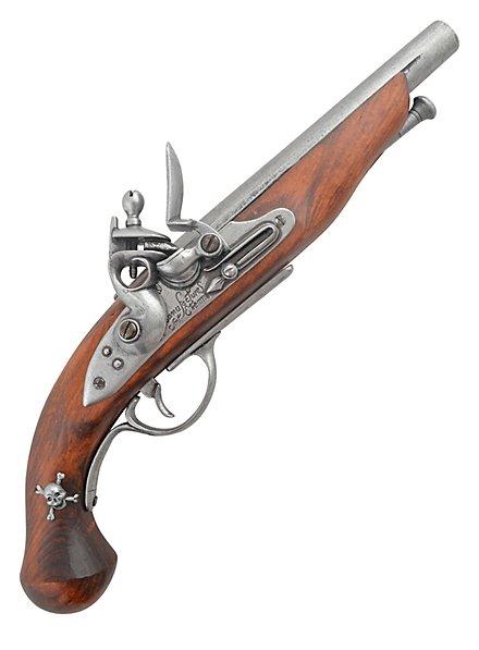 Steinschloßpistole für Piraten - französisch (grau)