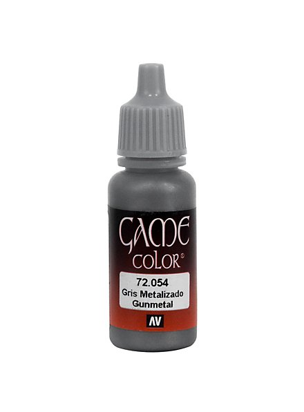 Vallejo Metallic Color 054 Gunmetal 17ml