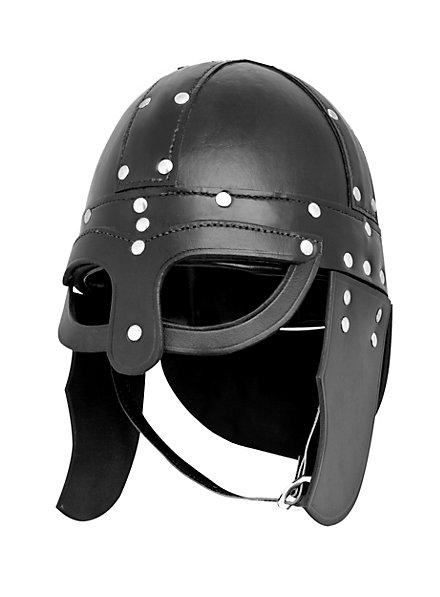 Viking Leather Helmet
