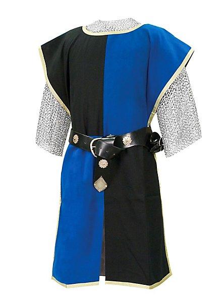Waffenrock Ritter schwarz-blau
