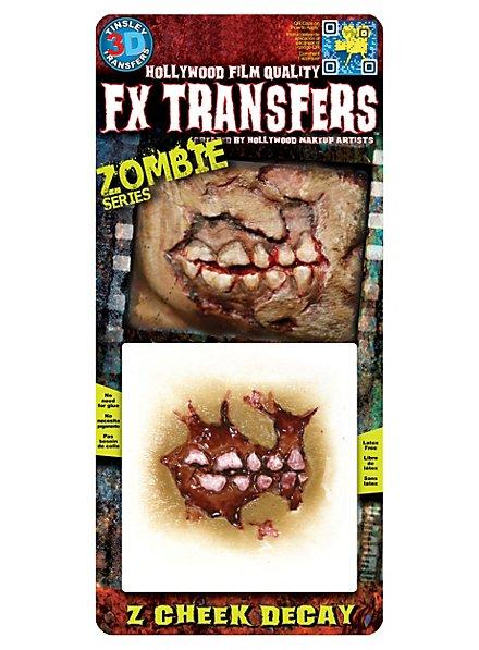 Zombie Wange 3D FX Transfers