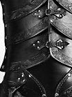 Elfenrüstung aus Leder schwarz