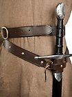 Mittelalterlicher Schwertgürtel braun