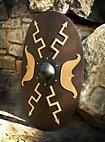 Ovaler römischer Holzschild