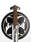 Schwerthalterung Tatzenkreuz