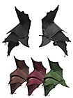 Spalières de démon noires