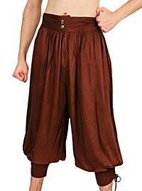 3/4 Harem Pants brown