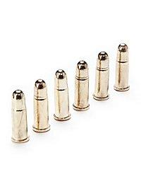 6 Patronen für 45er Colt Dekomunition
