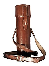 Ambience Thermos Flask with Shoulder Bag brown