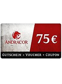 Andracor Gift Voucher 75,- €