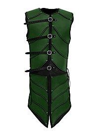 Armure d'elfe guerrier en cuir vert