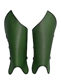 Beinschienen - Bandit grün