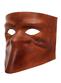 Bauta de cuoio Masque en cuir vénitien