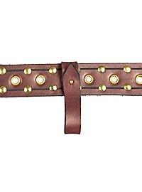 Belt connector brown