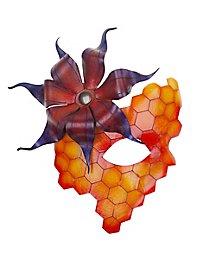 Ledermaske - Bienenkönigin