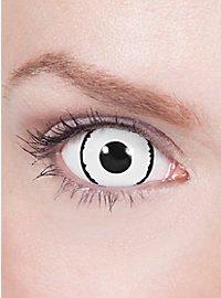 Black & White Mini Sclera Contact Lenses