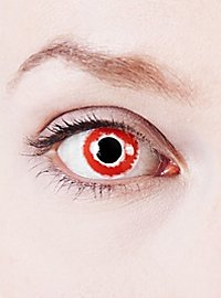 Blood Contact Lenses
