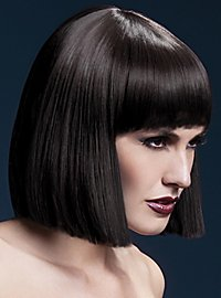 Blunt Cut Wig dark brown
