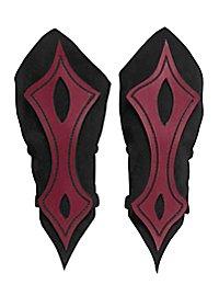 Armschienen - Bogenschütze rot