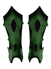 Beinschienen - Bogenschütze grün