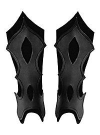 Beinschienen - Bogenschütze schwarz