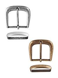 Boucle de ceinture avec passant en métal - Fripouille
