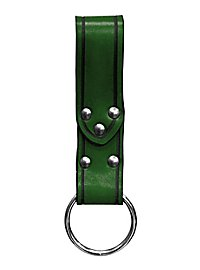 Boucle de ceinture verte avec anneau