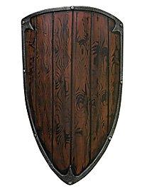 Bouclier triangulaire - Bois (90x60cm)