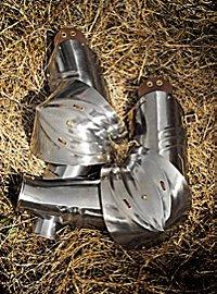 Bras d'armure gothiques allemands