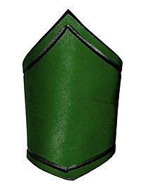 Brassard en cuir vert