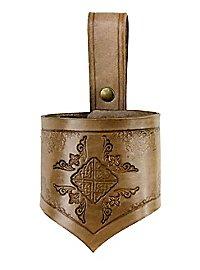 Fourreau d'épée de guerrier celte beige