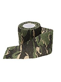 Camo-Tape for handles and grips - woodland camo