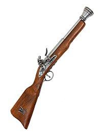 Carabine de pirate Arme décorative