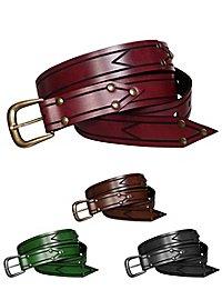 ceinture en cuir - combattante