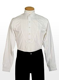 Chemise western blanche