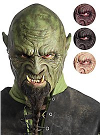 Chinless silicone orc mask - Grakharr