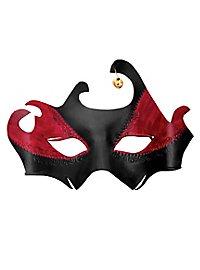 Colombina Drago Masque en cuir vénitien