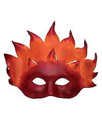 Colombina Sole Masque en cuir vénitien