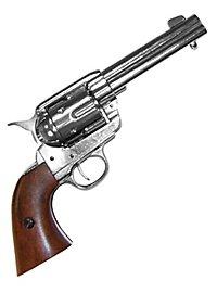 """Colt """"Peacemaker"""" vernickelt Dekowaffe"""