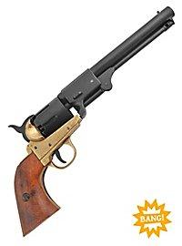 Revolver - Konföderation 1860 (messingfarben) Dekowaffe