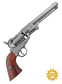 Revolver - Konföderation 1860 (silbern) Dekowaffe