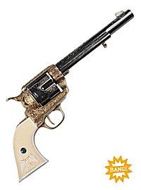 Revolver - Colt US Kavallerie 1873, verziert Dekowaffe