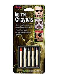 Crayons de maquillage horreur