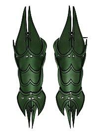 Armschienen - Dämon grün