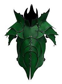 Lederrüstung mit Schultern - Dämon grün