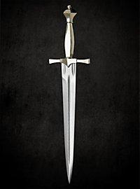 Dagger with Nickel Silver Hilt